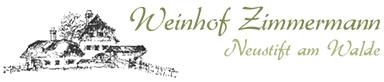 Weinhof Zimmermann Heinz Zimmermann - Logo